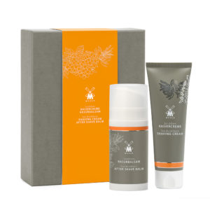 Skin care set with sea buckthorn
