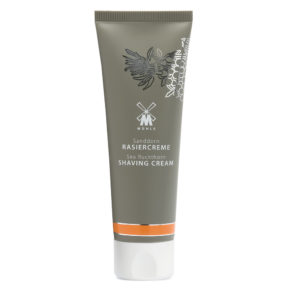 Shaving cream with sea buckthorn