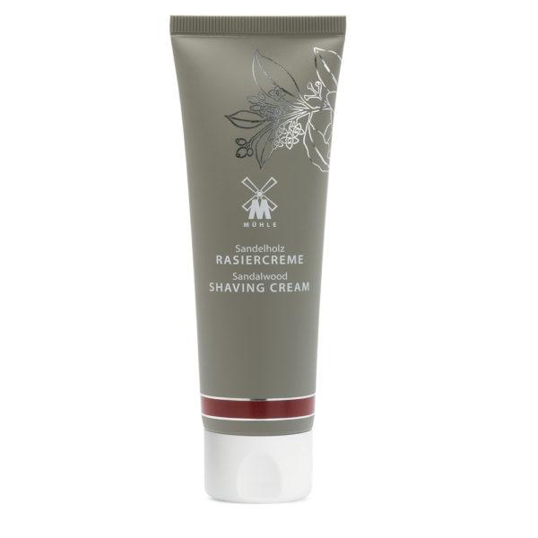 Shaving cream with Sandalwood